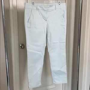 Loft pants mint green size 10 petite